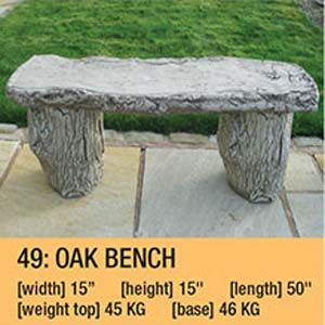 Stone Oak Bench