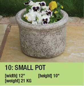 Stone Pot Planter Duk074