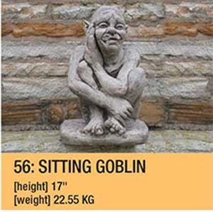 Stone Sitting Goblin 56