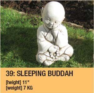 Stone Sleeping Buddah