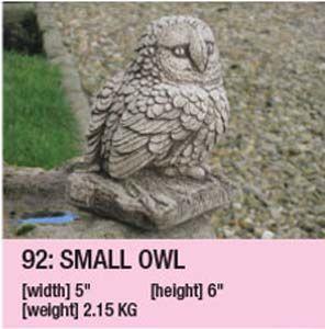 Stone Small Owl 101