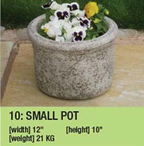 Stone Small Pot 10