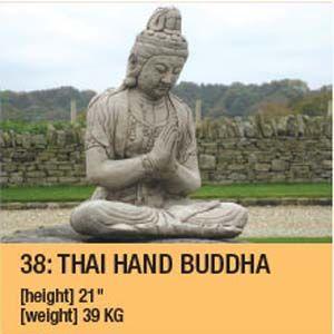 Stone Small Thai Buddah 109