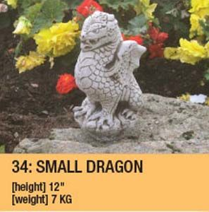 Stone Smiling Dragon