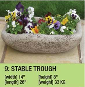 Stone Stable Trough Duk059