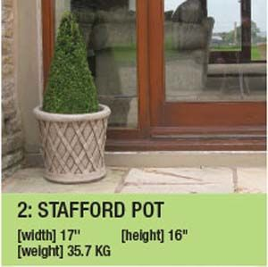 Stone Stafford Pot