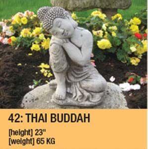 Stone Thai Buddah