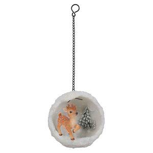 Vivid Arts Hanging Reindeer Mini Snowball Bg-Hs55-G