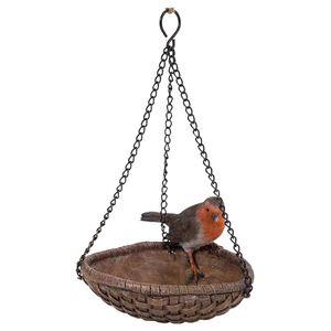 Vivid Arts Hanging Robin Heart Feeder Hgf-031