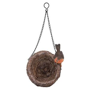 Vivid Arts Hanging Robin  Nest Feeder Hgf-032