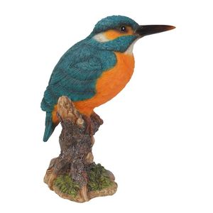 Vivid Arts Kingfisher On Stump F Xrl-Kfsh-F