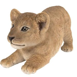 Vivid Arts Sitting Lion Cub Xrl-Lnc3-D