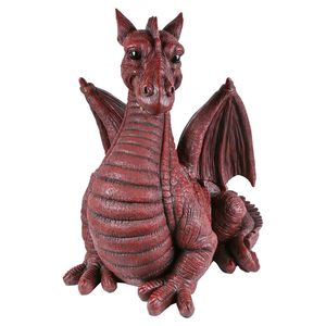 Vivid Arts Winged Dragon Red Bg-Dgre-A