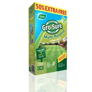 Westland Gro-Sure Multi Purpose Lawn Seed 10M2 + 50%