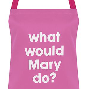 What would Mary do? (pink)