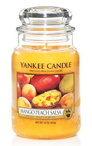 Yankee 81E Classic Large Jar Mango Peach Salsa 11146