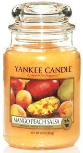 Yankee 82E Classic Medium Jar Mango Peach Salsa 11146