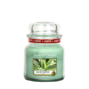 Yankee Aloe Water Medium Jar