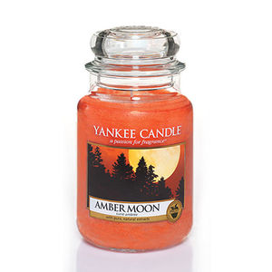 Yankee Amber Moon Medium Jar