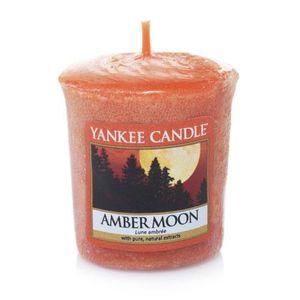 Yankee Amber Moon Votive