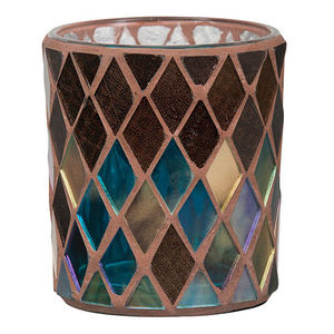 Yankee Autumn Mosaic Votive Holder
