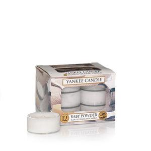 Yankee Baby Powder Tea Lights