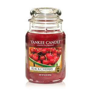 Yankee Black Cherry Large Jar