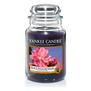 Yankee Black Plum Blossom Large Jar