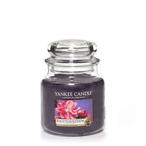 Yankee Black Plum Blossom Medium Jar