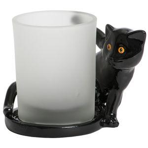 Yankee Black Cat Votive Holder