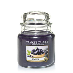 Yankee Cassis Medium Jar