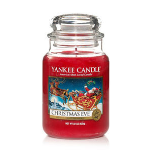Yankee Christmas Eve Large Jar