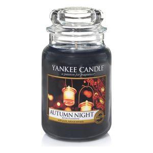 Yankee Classic Large Jar Autumn Night