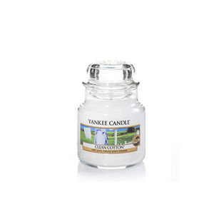 Yankee Clean Cotton Small Jar