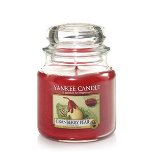 Yankee Cranberry Pear Medium Jar