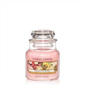 Yankee Fresh Cut Roses Small Jar