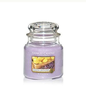 Yankee Lemon Lavender Medium Jar