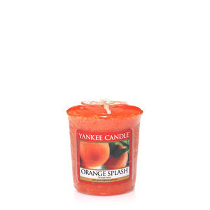 Yankee Orange Splash Votive