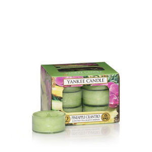Yankee Pineapple Cilantro Tea Lights