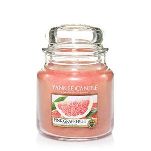 Yankee Pink Grapefruit Medium Jar