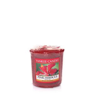 Yankee Pink Hibiscus Votive