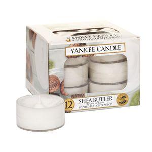 Yankee Shea Butter Tea Lights