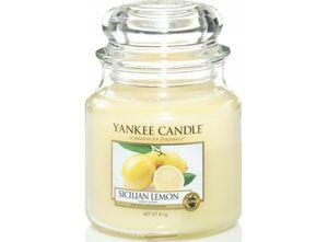 Yankee Sicilian Lemon Medium Jar