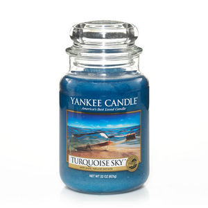 Yankee Turquoise Sky Large Jar