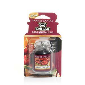 Yankee Ultimate Black Cherry Car Jar