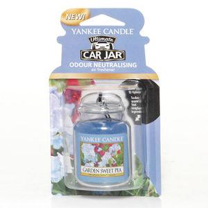 Yankee Ultimate Garden Sweet Pea Car Jar