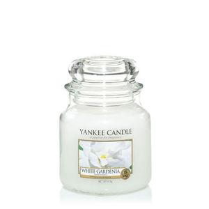 Yankee White Gardenia Medium Jar