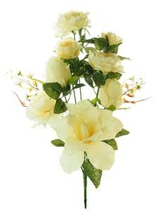 Lotus Silk Rose  Lily Bunch Cream 101170
