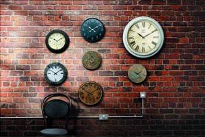 Gardman Gloucester Clock & Thermometer - 17113