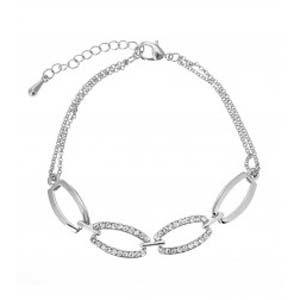 Oval Crystal Bracelet 1815